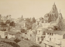 Jagdish Temple and city, Udaipur.